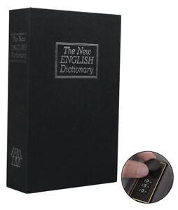 Dictionary-Safes-Hidden-Book-Safe-Lock-Secret-Security-Money-Stash-PASSWORD