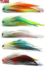 """6/"""" Trout Salmon Steelhead Pike Fly Fishing Streamer Flies NEW"""