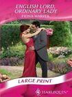 English Lord Ordinary Lady 9780263200577 by Fiona Harper Hardback
