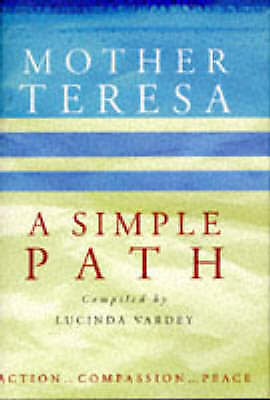 """""""AS NEW"""" A Simple Path, Teresa, Mother, Book"""