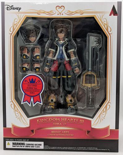 Kingdom Hearts 3 6 Inch Action Figure Bring Arts Sora 2nd Form