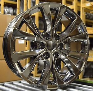 """Hyper Sport 2017 >> 20"""" Ford F150 XLT 2015 2016 2017 Factory OEM Rim Wheel 10003 PVD Chrome Set   eBay"""