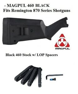Magpul Industries SGA Stock Black for Remington 870 MAG460-BLK