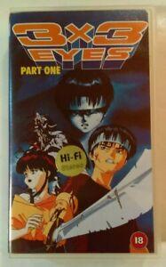 3x3-Eyes-Part-1-Episodes-1-amp-2-VHS-1991-Anime-OVA-1993-Manga-Entertainment