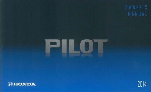 2014 Honda Pilot Owner Manual User Guide Reference Operator Book ...