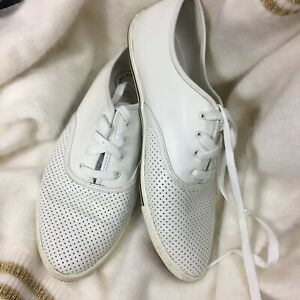 Marc-by-Marc-Jacobs-White-Perforated-Sneakers-Size-8-Women