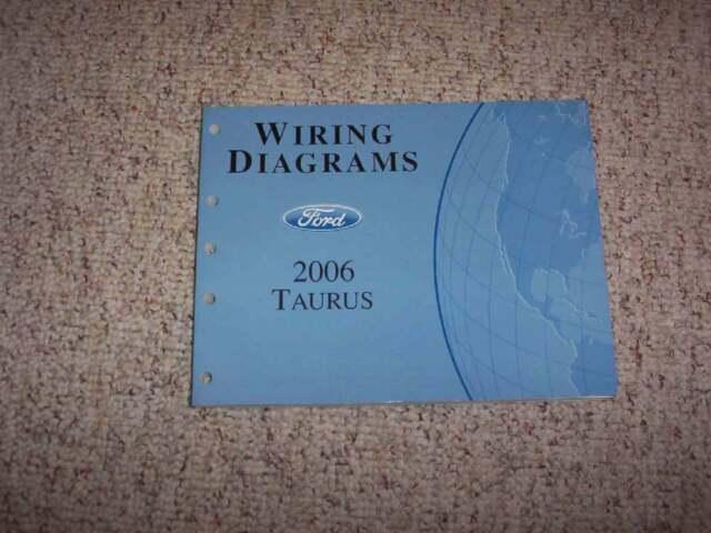 2006 Ford Taurus Electrical Wiring Diagram Manual Se Sel 3