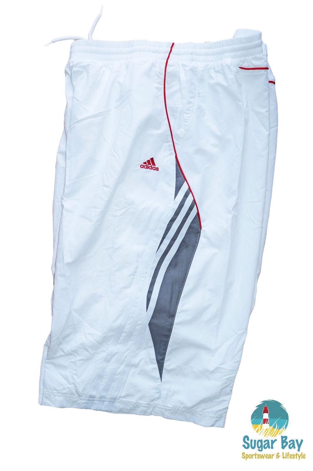 Nuevo Adidas de  Hombre Climalite Tenis Pantalones Deportivos blancoo XL  Entrega gratuita y rápida disponible.