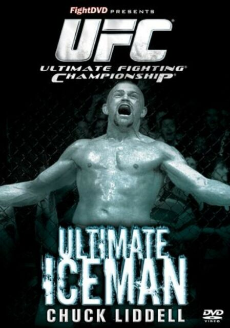 UFC Ultimate Fighting Championship Iceman DVD Chuck UK Release Brand New Sealed