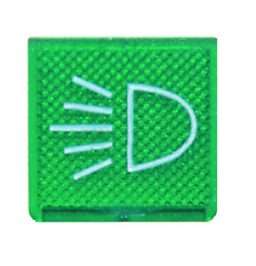 Schalter Symbol Licht Abblendlicht Haubt Scheinwerfer