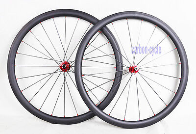805g Sapim CX-RAY Carbon Clincher Rear Wheel 700C 38mm Novatec 3k Road Bicycle