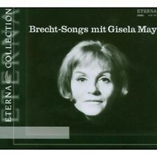 GISELA/KRTSCHIL,H./STUDIOORCHESTER MAY - BRECHT-SONGS MIT GISELA MAY  CD NEU