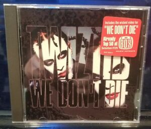 Twiztid-We-Don-039-t-Die-CD-Single-rare-insane-clown-posse-dark-lotus-blaze-icp