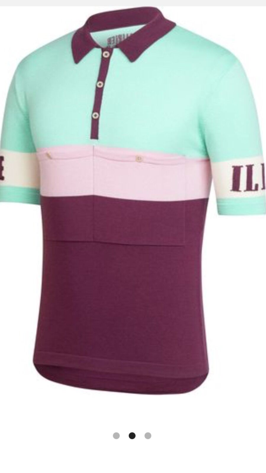 Rapha Rivalry Merino Classique Jersey-NEW W Tag-Large