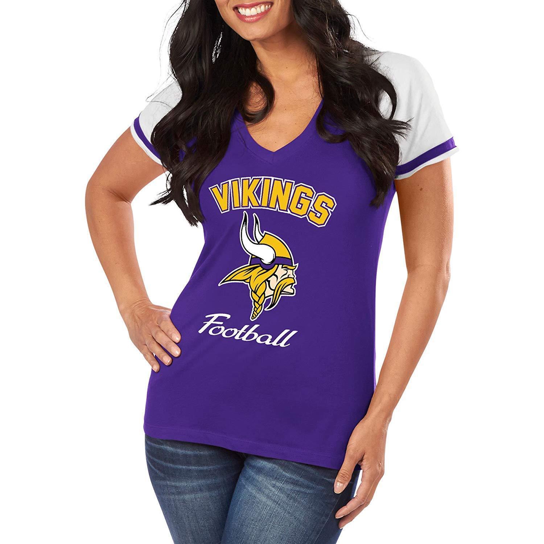 NFL Donna Shirt Minnesota Vikings go for two IV Ladies Donna GIRLS FOOTBALL