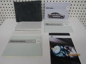 2006-Volvo-S40-Owners-Manual-Kit-FREE-SHIPPING