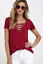 Sexy-Fashion-Women-V-Neck-Short-Sleeve-T-shirt-Casual-Loose-Blouse-Tops-Tee-2019 thumbnail 3