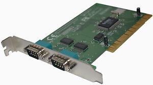 NetMOS-Chipsatz-NM9835CV-Serielle-PCI-Controller-Karte-RS232-4-Port-DB9
