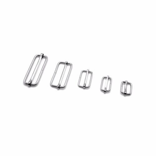 Metal D-Rings O-Rings Loops Slider Bars Buckles Webbing Strap Tape ❀ Wide Choice
