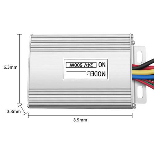 24V DC 500W Speed Controller w Reverse f go-Kart Quad eATV eCart Electric Motor