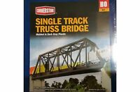 TRUSS BRIDGE SINGLE TRACK WALTHERS CORNERSTONE KIT HO SCALE NEW #933-3185 Toys