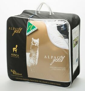 Kelly-and-Windsor-Alpaca-Gold-200-Quilt-SUPER-KING-KING-QUEEN-DOUBLE-SINGLE