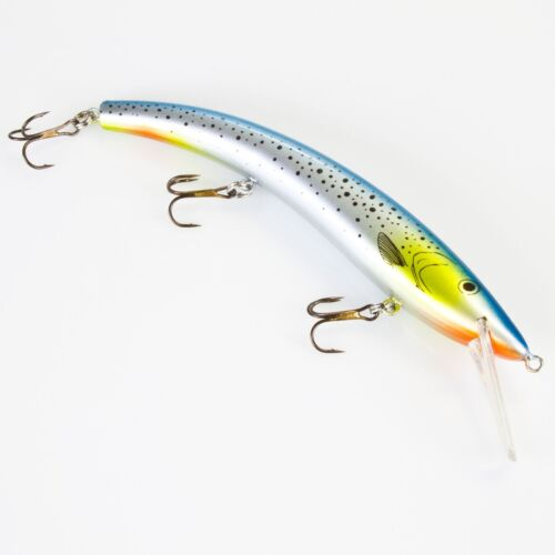 Der Zanderwobbler Wally Minnow SR 14g floating Wobbler Kunstköder 13cm