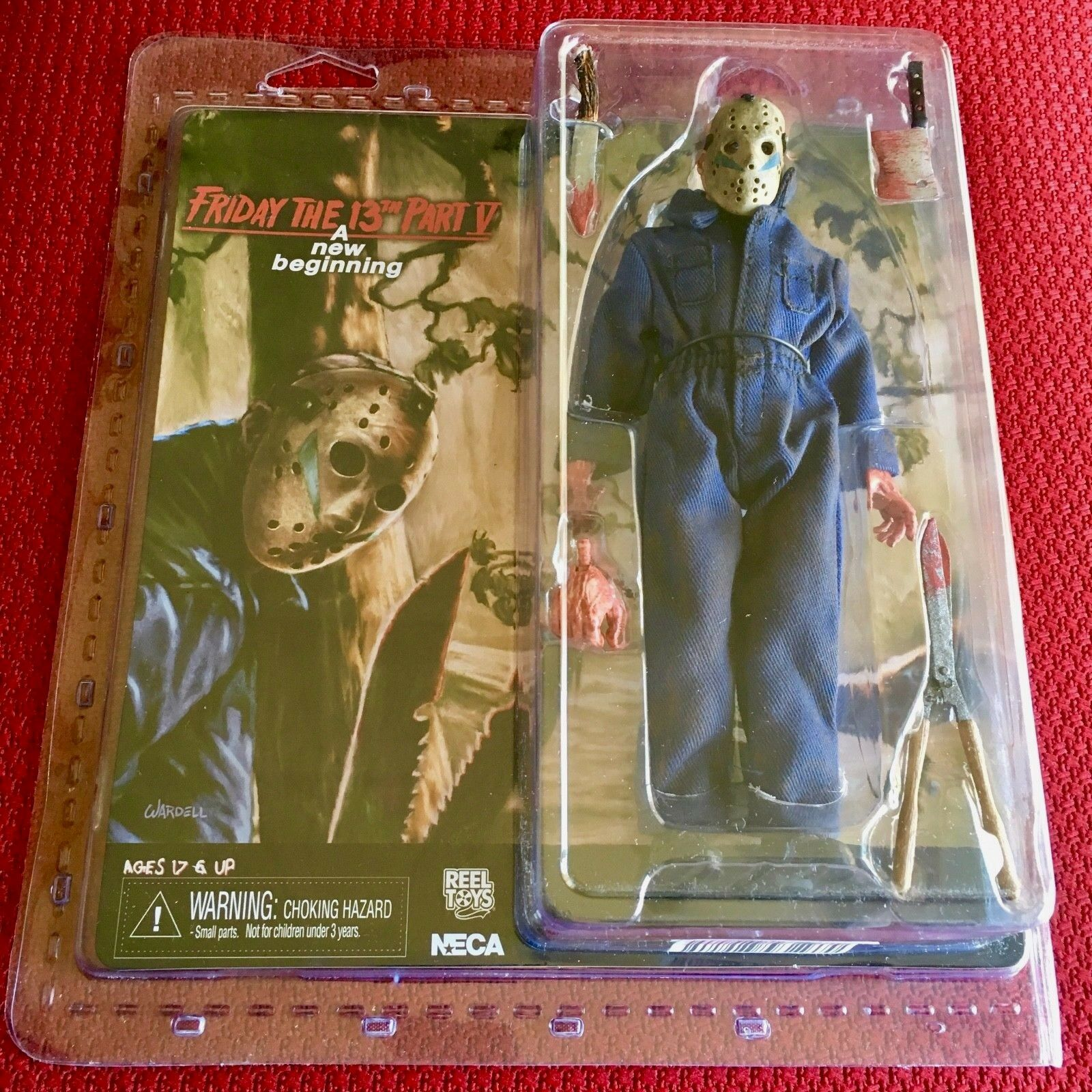 Jason aka Roy 8  Clothed Action Figure - Friday the 13th Part 5 NECA Brand Nuovo