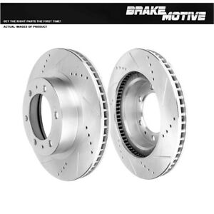 Front-319-mm-Brake-Disc-Rotors-For-Toyota-4Runner-FJ-Cruiser-Tacoma-2WD-4X4-4WD
