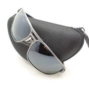4bebd8b8b2 Wiley X Hayden Matte Dark Gunmetal Silver Flash Sunglasses Authentic ...