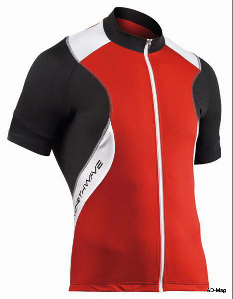 Maillot de Vélo - NORTHWAVE 89141034 Sonic Jersey - red - size L - NEUF
