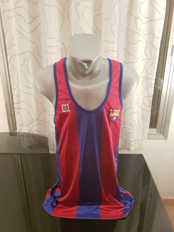 CAMISETA SHIRT VINTAGE MUSEUM 80'S  MEYBA FC BARCELONA BASKETBALL TALLA XL