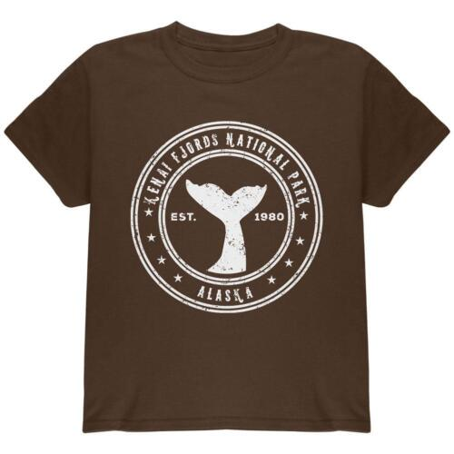 Kenai Fjords National Park Youth T Shirt
