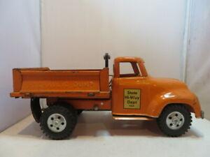 Tonka Toys State Hi-Way Dept 980 Hydraulic Dump Truck