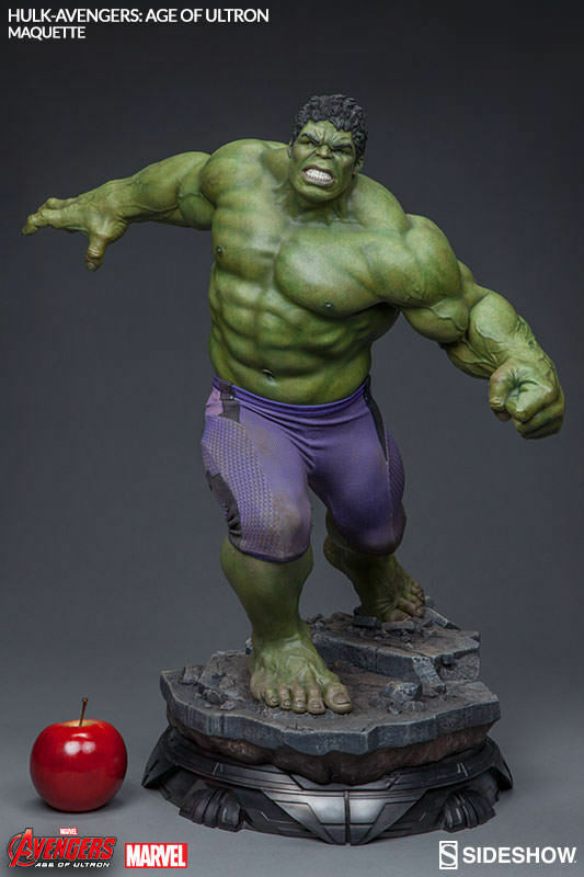 Avengers Age Of Ultron 24 Inch Statue Figure Maquette - Hulk Sideshow 400268