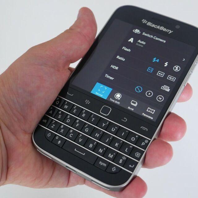 BlackBerry Q20 Classic 16GB Black Verizon Smartphone + Worldwide GSM Unlocked