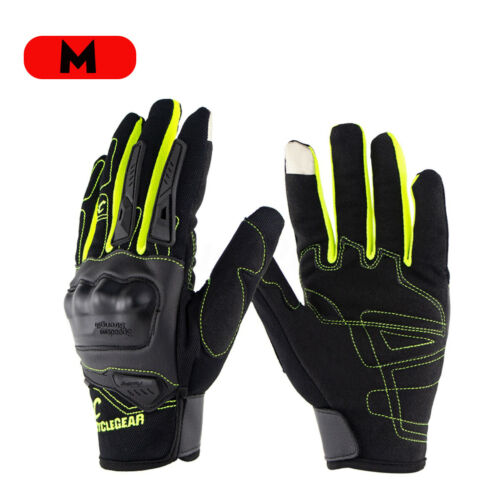 2PCS Motorcycle Bike Gloves Military Outdoor Touchscreen Warm  Full Finger Glove