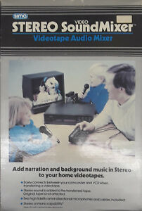 Sima-SSM-2-Stereo-Video-SoundMixer-BRAND-NEW