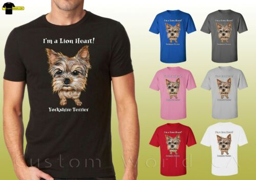 Yorkshire Shirts Cute Yorkie Terrier Dog Lovers Graphic Unisex T-Shirt 19662hd4