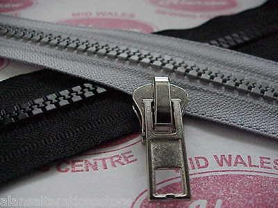 Heavy duty zip sliders for Chunky plastic moulded zip. No 10 zip sliders