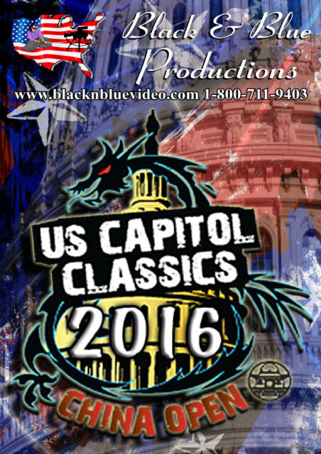 2016 U S Capitol Classics and China Open Tournament DVD - Only 2 at this price