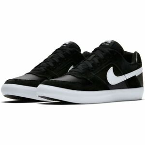 los angeles b9aff 52111 Image is loading Nike-SB-Delta-Force-Vulc-Leather-Men-Black-