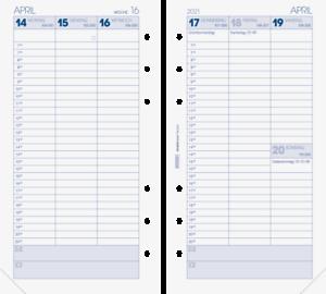 Brunnen 2021 Wochenkalendarium 1074901001 A6 9,3x17,2cm Modell Filius Ersatzkale