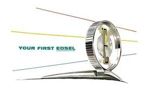 1958 edsel owners manual user guide ebay rh ebay com User Manual PDF 1959 edsel owners manual