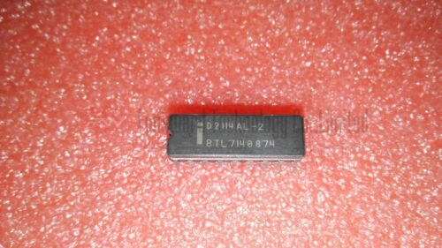 Intel D2114AL-1 D2114AL-2 D2114AL-3 D2114AL-4 1K x 4 SRAM CDIP18 x 2pcs