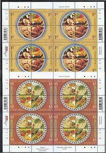 SINGAPORE-2008-MACAU-JOINT-ISSUE-LOCAL-DELIGHTS-2-FULL-SHEET-16-STAMPS-EACH-MINT