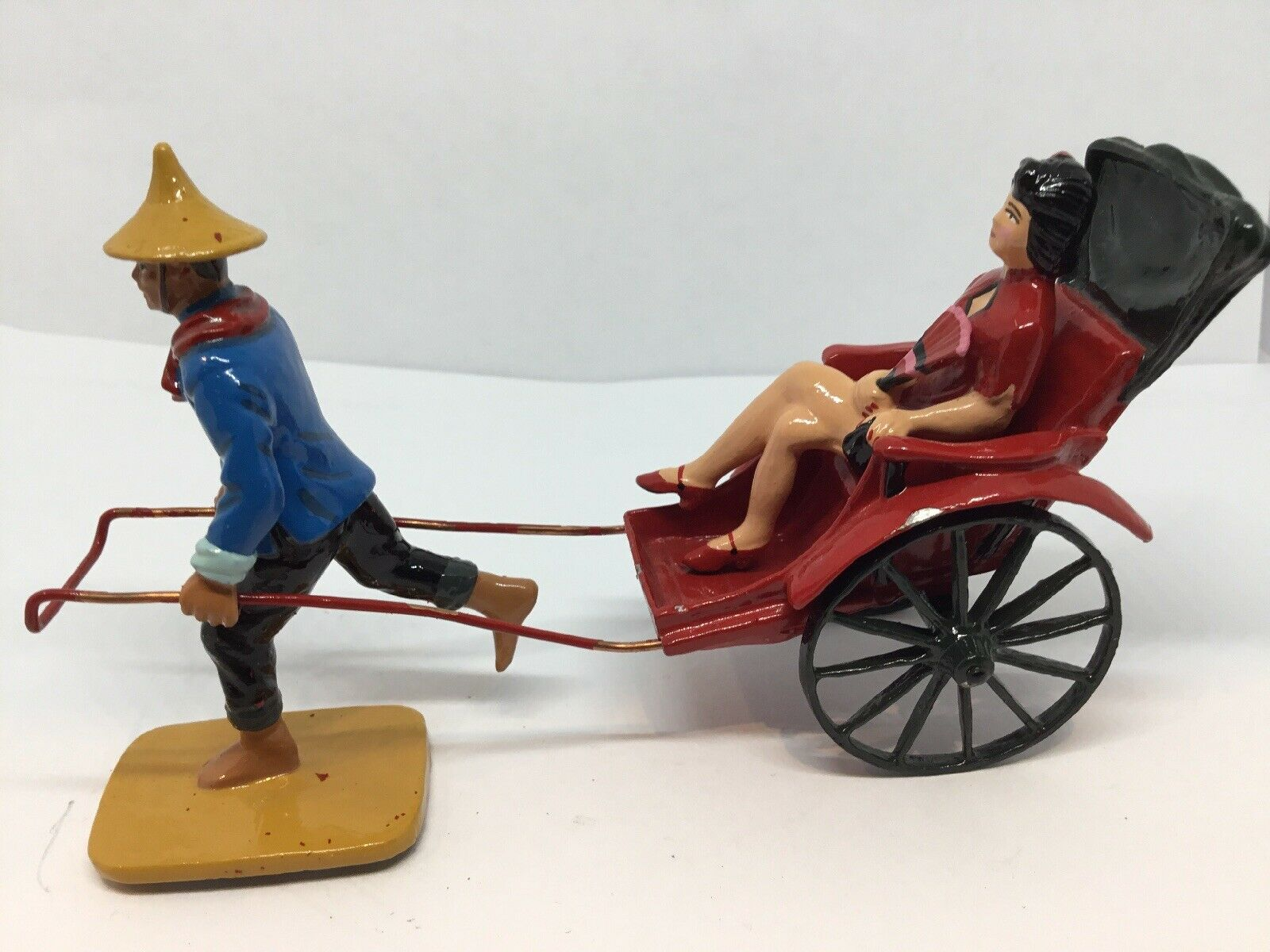 King And Country, Rickshaw Runner And Lady, Hong Kong (Ref Or 949')