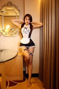 french maid Asian