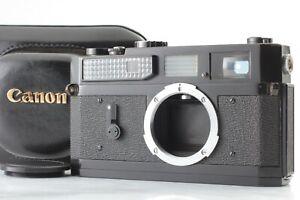 Exc-5-Schachtel-Canon-7-Original-schwarz-Rangefinder-Film-Camera-Body-from-Japan