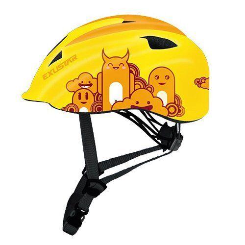 EXUSTAR E-BHM503K  ld's  Bicycle Helmet, Size S (52-57 cm), Yellow  new products novelty items